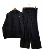 ()の古着「レインウェアセットアップ」 ブラック
