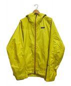 ()の古着「RAIN SHADOWジャケット」 イエロー