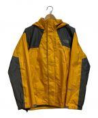 THE NORTH FACE(ザ ノース フェイス)の古着「レインテックス2ジャケット」 イエロー×グレー