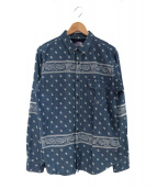 THE NORTHFACE PURPLELABEL(ザノースフェイスパープルレーベル)の古着「シャツ」|スカイブルー
