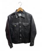 THE CRIMIE(ザ クライミー)の古着「レザージャケット」|ブラック