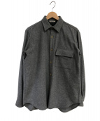 AURALEE(オーラリー)の古着「CPOシャツジャケット」|グレー