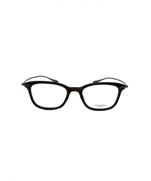 OLIVER PEOPLES(オリバーピープルズ)OLIVER PEOPLES (オリバーピープルズ) 眼鏡 ブラウン COLLINA VOTの古着・服飾アイテム