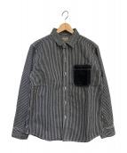 KOJIMA GENES(コジマジーンズ)の古着「デニムシャツ」 ネイビー