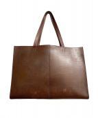 土屋鞄(ツチヤカバン)の古着「トートバッグ」|ダークブラウン
