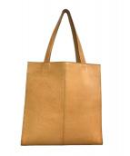 土屋鞄(ツチヤカバン)の古着「トートバッグ」|キャメル