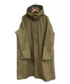 DESCENTE(デサント)の古着「ダウンライナー付コート」 カーキ