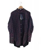 nonnative(ノンネイティブ)の古着「タータンチェックロングシャツ」|レッド