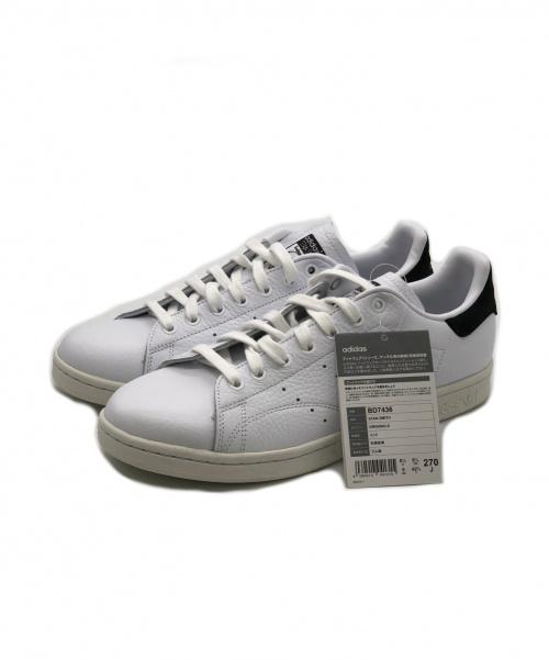 adidas(アディダス)adidas (アディダス) スニーカー ホワイト サイズ:SIZE 27cm 未使用品 BD7436 定価 14.000円の古着・服飾アイテム
