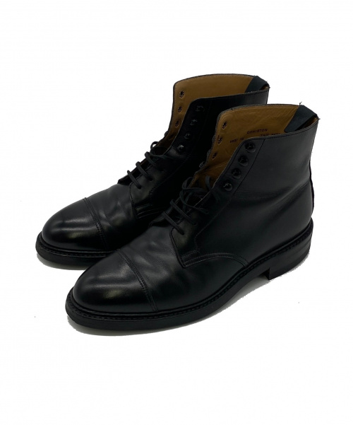 Crockett & Jones(クロケットアンドジョーンズ)Crockett & Jones (クロケットアンドジョーンズ) ストレートミドルブーツ ブラック サイズ:7 1/2 CONISTON 8637 参考上代88.000円の古着・服飾アイテム