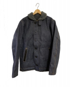 KOJIMA GENES(コジマジーンズ)の古着「デニムN-1ジャケット」 インディゴ
