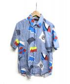 LOUIS VUITTON(ルイヴィトン)の古着「シャツ」|スカイブルー