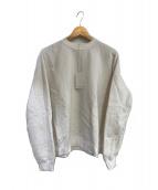 AURALEE(オーラリー)の古着「クルーネックスウェット」|ホワイト