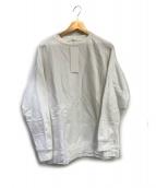 COMOLI(コモリ)の古着「クルーネックスウェット」|ホワイト