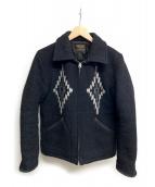 COOTIE(クーティ)の古着「ジップアップジャケット」 ブラック