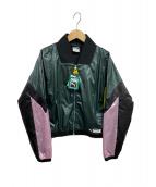 PUMA(プーマ)の古着「ナイロンジャケット」|グリーン
