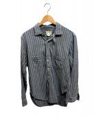 freewheelers(フリーホイーラーズ)の古着「スキッパーワークシャツ」|ブルー
