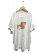 MAYBE TODAY NYC(メイビー トゥデイ)の古着「プリントTシャツ」|ホワイト