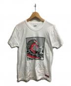Dry bones(ドライボーンズ)の古着「プリントTシャツ」|ホワイト