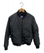 THE NORTHFACE PURPLELABEL(ザノースフェイスパープルレーベル)の古着「MA-1ジャケット」|ブラック