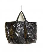 PORTER()の古着「ビニールトートバッグ」|ブラック