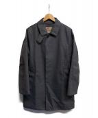 Traditional Weatherwear(トラディショナル ウェザーウェア)の古着「ステンカラーコート」|グレー