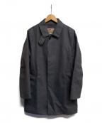 Traditional Weatherwear()の古着「ステンカラーコート」 グレー