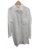 Y-3(ワイスリー)の古着「ロングシャツ」|ホワイト