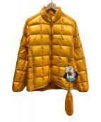 ()の古着「スペリオ ダウンジャケット」 イエロー
