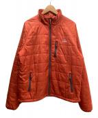 ()の古着「プリマロフトパッカウェイジャケット」 オレンジ