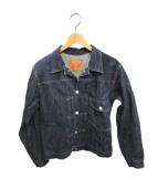WAREHOUSE(ウエアハウス)の古着「ファーストデニムジャケット」|インディゴ