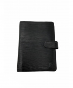LOUIS VUITTON(ルイ ヴィトン)の古着「手帳カバー」|ブラック