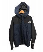 THE NORTH FACE(ザノースフェイス)の古着「マウンテンライトジャケット」|ブルー×ブラック