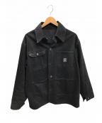 Pointer(ポインター)の古着「デニムカバーオール」 ブラック