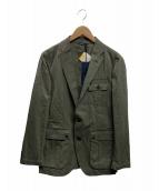 ()の古着「テーラードジャケット」|オリーブ