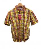 J.PRESS(ジェイプレス)の古着「半袖BDシャツ」|イエロー