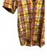 中古・古着 J.PRESS (ジェイプレス) 半袖BDシャツ イエロー サイズ:M 未使用品 チェック:4800円