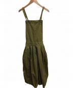 HARVESTY(ハーベスティー)の古着「サーカスパンツ」 オリーブ