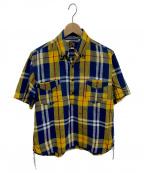 Mr.FREEDOM×SUGAR CANE()の古着「半袖BDシャツ」|イエロー
