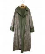 Ameri(アメリ)の古着「コート」|カーキ