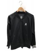 adidas originals×master mind(アディダスオリジナル×マスターマインド)の古着「トラックジャケット」|ブラック