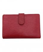 LOUIS VUITTON(ルイ ヴィトン)の古着「2つ折り財布」|レッド