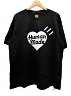 HUMAN MADE(ヒューマンメイド)の古着「ショートスリーブカットソー」|ブラック
