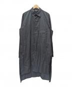 Y-3(ワイスリー)の古着「ロングシャツ」|ブラック