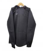 NEW BALANCE(ニューバランス)の古着「プルオーバーパーカー」|ブラック