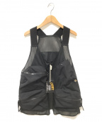 Comfy Outdoor Garment(コンフィーアウトドアガーメンツ)の古着「ハンティッシュベスト」|ブラック