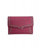 Cartier(カルティエ)の古着「2つ折り財布」|ピンク