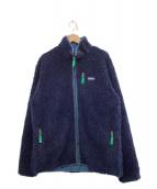 Patagonia(パタゴニア)の古着「クラシックレトロXカーディガン」|ネイビー×グリーン
