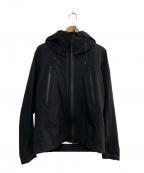 DESCENTE ALLTERRAIN(デザイント オルテライン)の古着「フローテック3L ハードシェル ジャケット」|ブラック