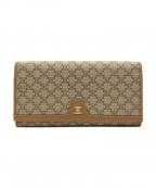 CELINE(セリーヌ)の古着「長財布」|ベージュ